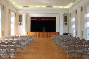 Haddon Fortnightly event venue