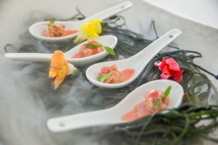 Fire and Ice Ceviche Appetizer
