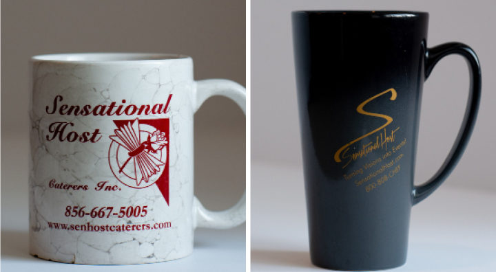 Sensational Host Before and After Mugs