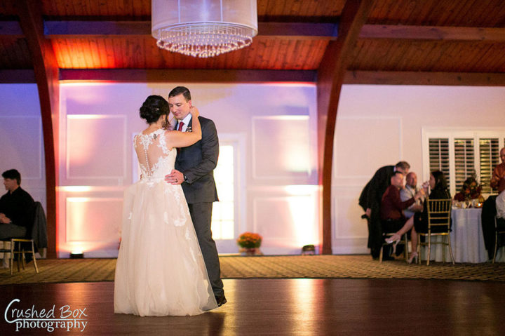 First Dance Bride and Groom at Marian House