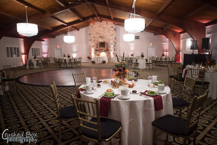 Marian House Wedding Set Up