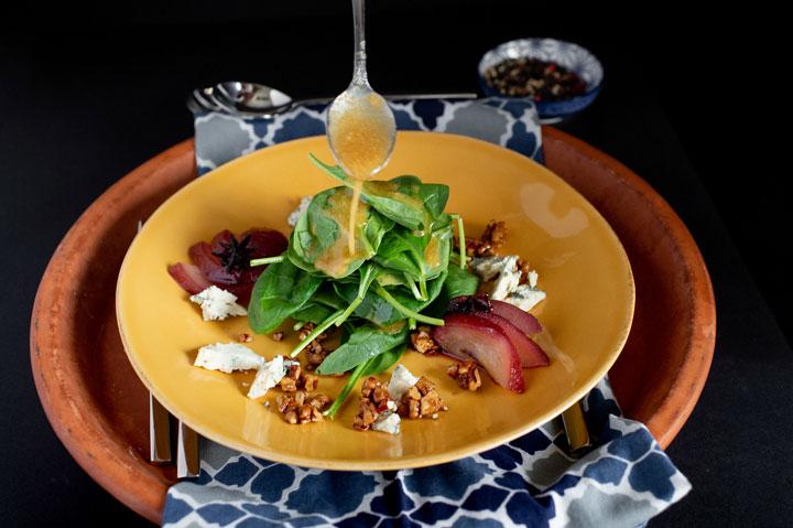 Wedding Tasting Plate Salad
